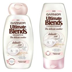Garnier Ultimate Beauty Oil delicate oat shampoo and conditioner