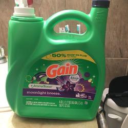 Gain Liquid Laundry Detergent, Moonlight Breeze