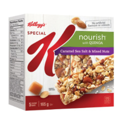 Kelloggs Caramel Sea Salt and Mixed Nuts
