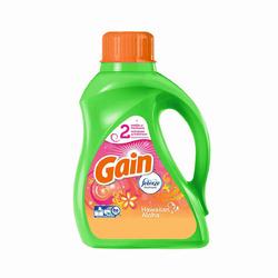 Gain Hawaiian Aloha with Febreze Freshness Liquid Laundry Detergent