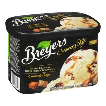 Breyers Creamery Style Caramel Fudge
