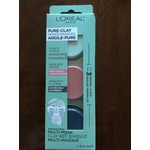 L'Oreal Pure-Clay Face Mask - Charcoal - To Cleanse & Brighten