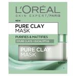 L'oreal Pure Clay Mask-Purifying & Mattifying