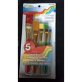 Crafts 5 peice paint brush set