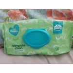 Pampers wipes complete clean unscented