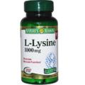 Nature's Bounty L-Lysine 1000 mg