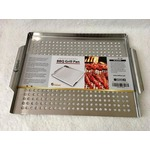Orblue Stainless Steel BBQ Grill Topper Pan