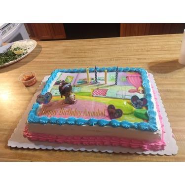 Walmart bakery cakes