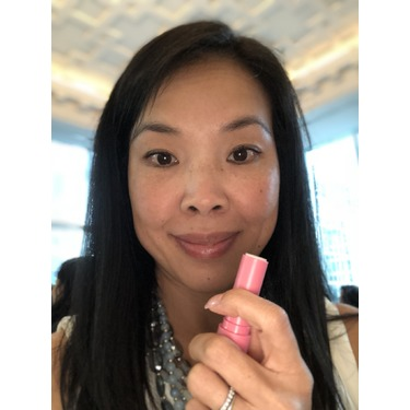 eos Organic Smooth Stick Lip Balm in Strawberry Sorbet