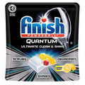 Finish Powerball Quantum Lemon Scent Dishwashing Detergent