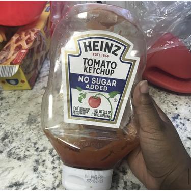 Heinz ketchup no sugar added