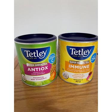Tetley Super Herbal Tea IMMUNE Lemon & Echinacea with Zinc