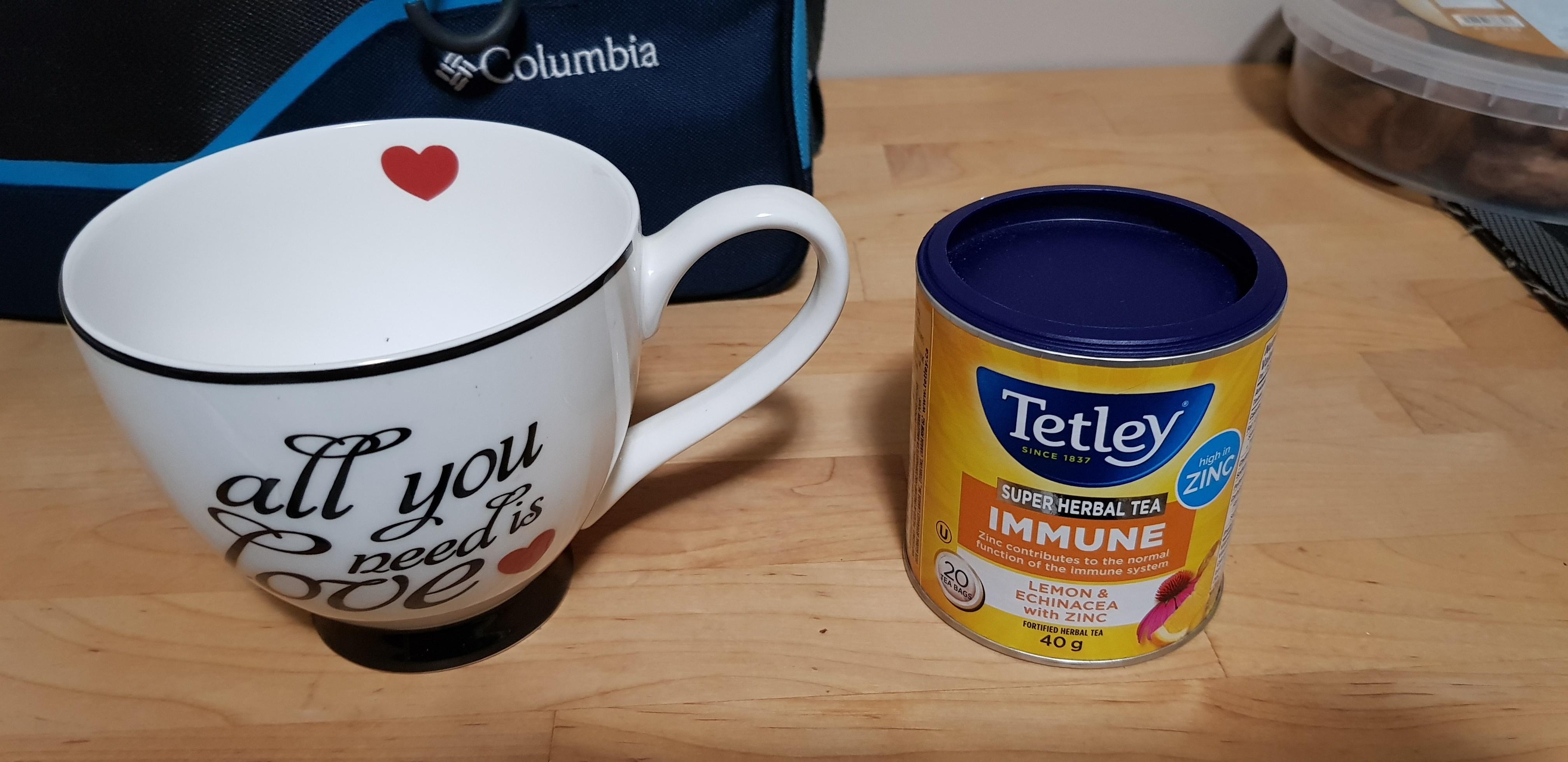 Tetley Super Herbal Tea Immune - Lemon & Echinacea with Zinc