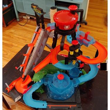 Hot Wheels Ultimate Gator Car Wash Playset Multicolor Reviews In