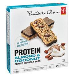PC Protein Almond & Coconut Coated Granola Bars