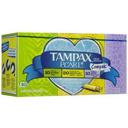 Tampax Compak Pearl Multipak