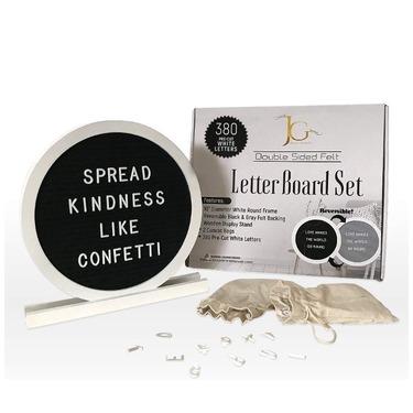 Joy and Grace Co Reversible Felt Letter Board