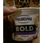 Philadelphia bold cracked pepper & Garlic
