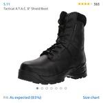 """5.11 Tactical A.T.A.C. 8"""" Shield Boot"""