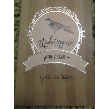 Pretty vulgar nightingale