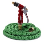Dreamthinker, [ON SALE] Expandable Garden Hose Quick Connect, Comfortable Metal Spray Nozzle, Super Strong, Light Weight Hose (50 FT) 2.5 out of 5 stars  26