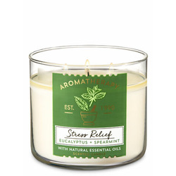 Bath and Body Works - 3 wick Stress Relief candle