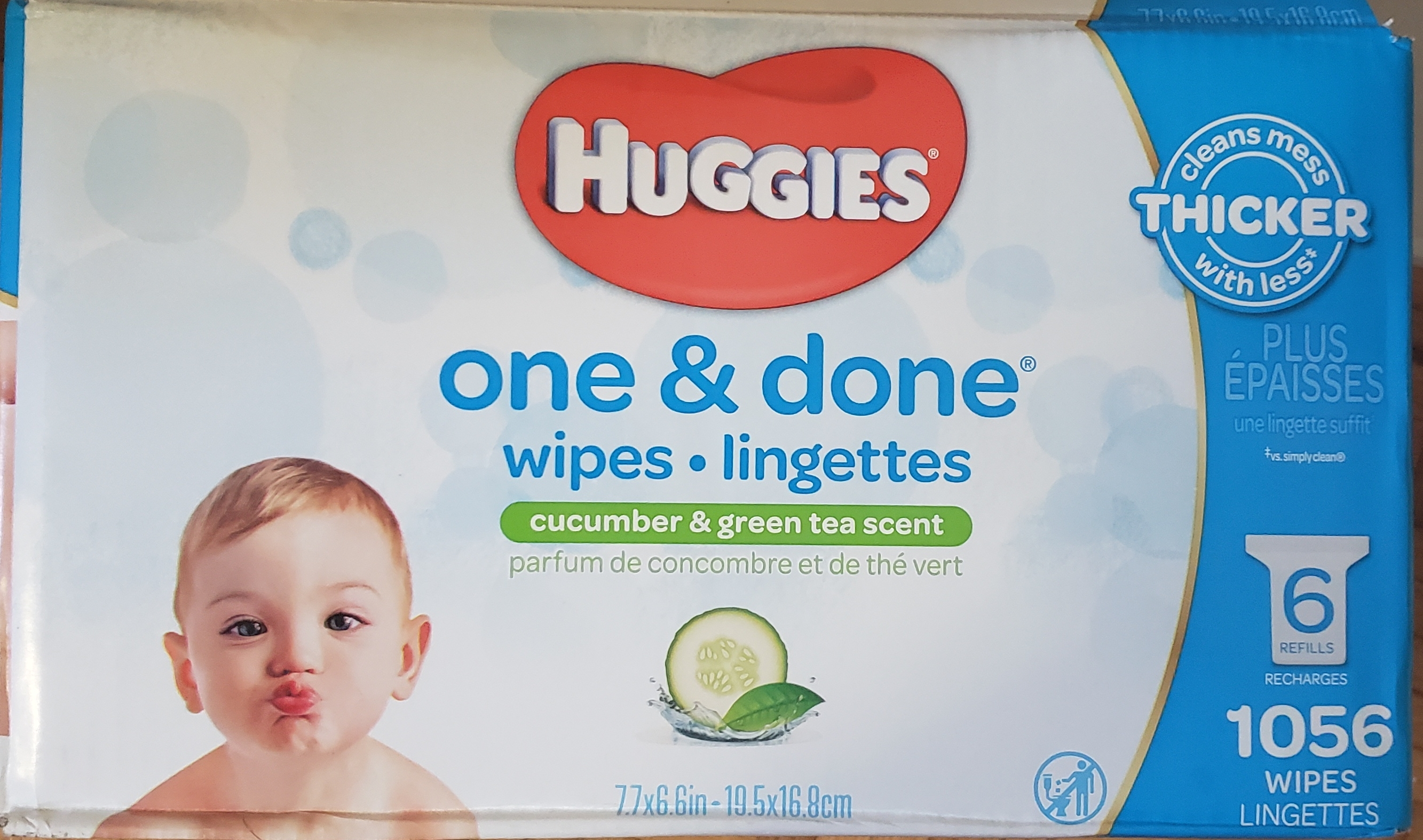Huggies One And Done Wipes Cucumber And Green Tea Reviews