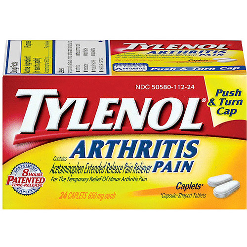 TYLENOL Arthritis Pain Caplets reviews in Pain Relief ...