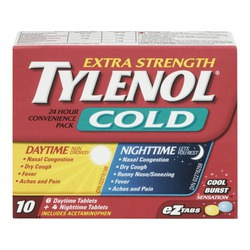 Tylenol Cold Extra Strength Convenience Pack