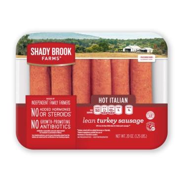 Shadybrook Farms Hot Italion turkey sausage