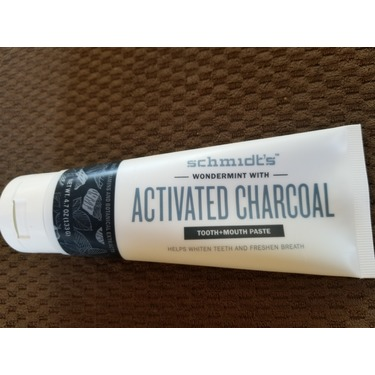 Schmidt's Charcoal activated toothpaste