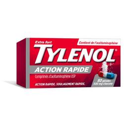 Tylenol Extra Strength Rapid Release Gelcaps