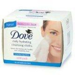 Dove Foaming Facial Wipes