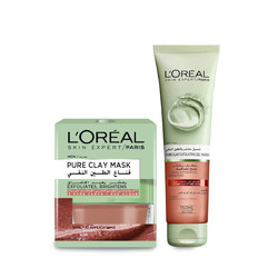 Loreal Paris Canada PURE-CLAY MASK- RED ALGAE