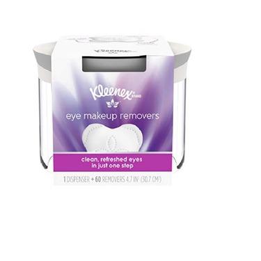 Kleenex Eye Makeup Remover Wipes
