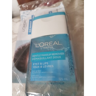 Loreal paris gentle makeup remover