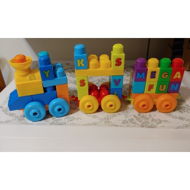 Mega Bloks ABC Musical Train Building Set reviews in Toys - ChickAdvisor