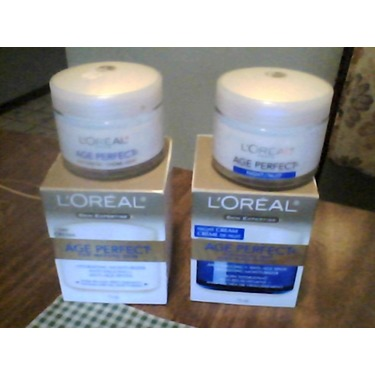 LOREAL AGE PERFECT DAY  and NIGHT CREAM
