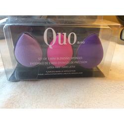 Quo set of 3 mini sponges