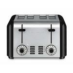 cuisinart 4 slice toaster = stainless steel