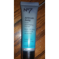 No7 airbrush away minimising pore primer