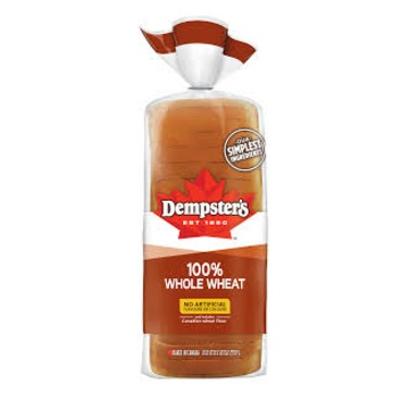 Dempster's 100% Whole Wheat Sliced Bread