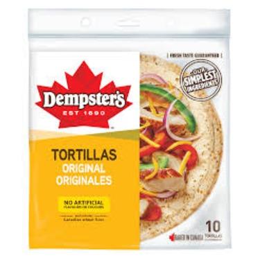 """Dempster's 10"""" Original Tortillas"""