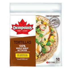 "Dempster's 7"" Whole Wheat Tortillas"