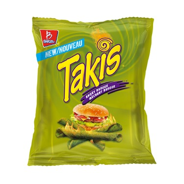 Takis Angry Burger Chips