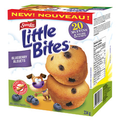 Sara Lee Little Bites Blueberry Muffins