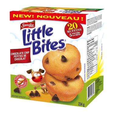 Sara Lee Little Bites Chocolate Chip Muffins