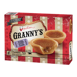 Vachon Granny's Butter And Raisins Tarts