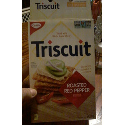 Triscuit roasted red pepper