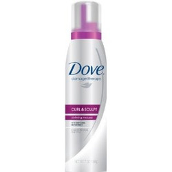 Dove Curl & Sculpt Defining Hair Mousse